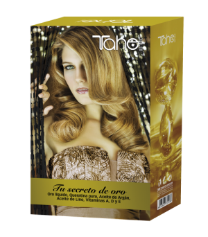 Botanic acabado pack gold secret + champu gold