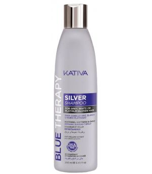 Champú realzador del color Kativa blue therapy