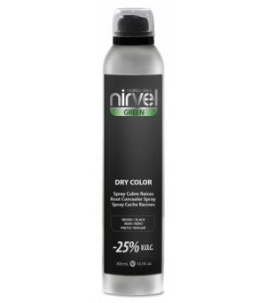 Spray cubrecanas Nirvel dry color negro