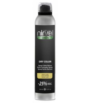 Spray cubrecanas Nirvel dry color rubio