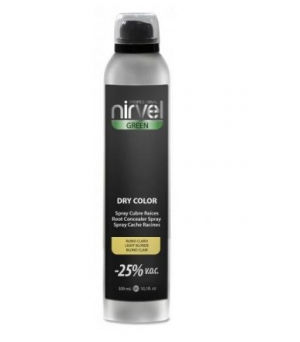 Spray cubrecanas Nirvel dry color rubio medio