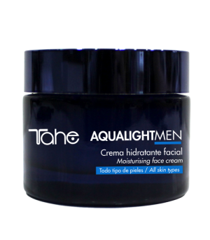 Crema hidratante facial hombre Aqualight 50 ml Tahe