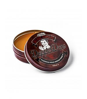 Pomada para cabello Deluxe fijacion normal Dapper Dan 100 ml