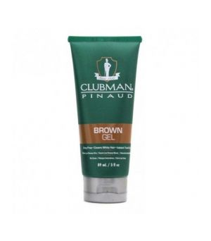 Gel capilar matificante marron Clubman Pinaud 89 ml