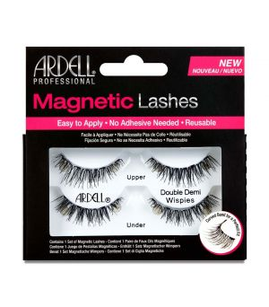 Pestañas magneticas Strip Lash double demi wispies Ardell