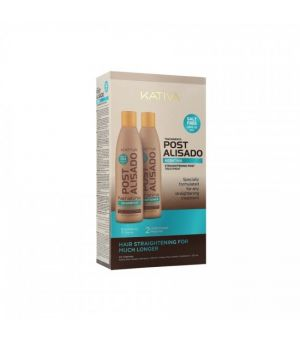 Kit alisado post 2 productos kativa