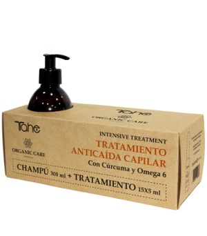 Pack anti caída intensive Organic Care Tahe