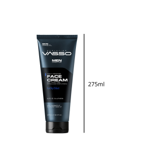 Crema Facial Hombre. Cream Lucky blue. 275ml. Vasso