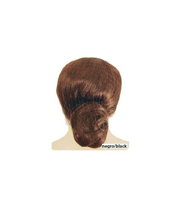 RED INVISIBLE PELO NATURAL NEGRA