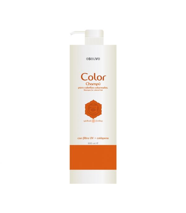 Champú de color 800 ml Eseuve