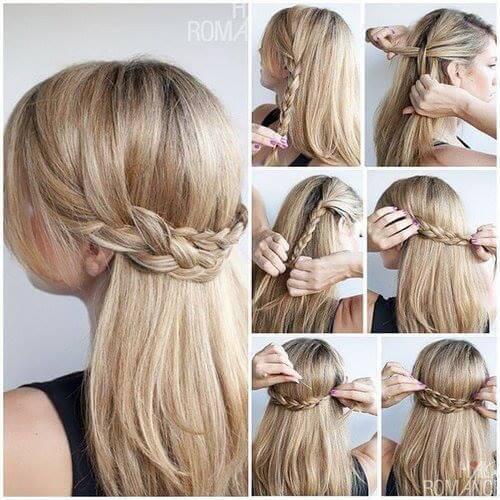 5 Peinados Con Trenzas Faciles De Hacer Blog De Estetica Y Peluqueria